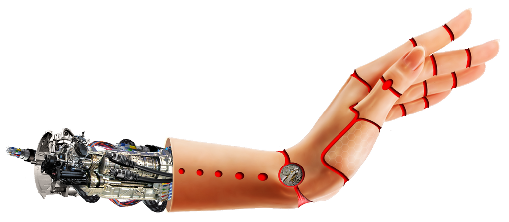 Cyborg  hand Byju by BYJU84