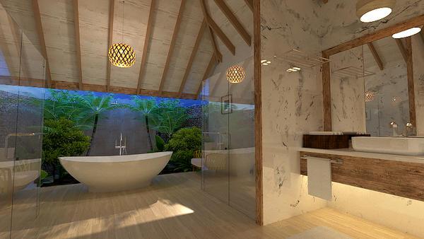 architectural visual  by Exsalah