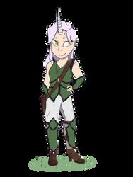 Half Unicorn Druid: Aliza