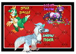 [CLOSED | AUCTION] Festive Special Snapadiles by ParadiseFever