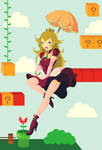 Princess Peach by Indy-Lytle