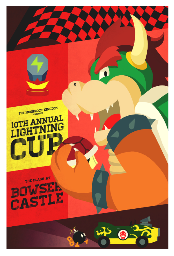 Bowser's Castle by Indy-Lytle