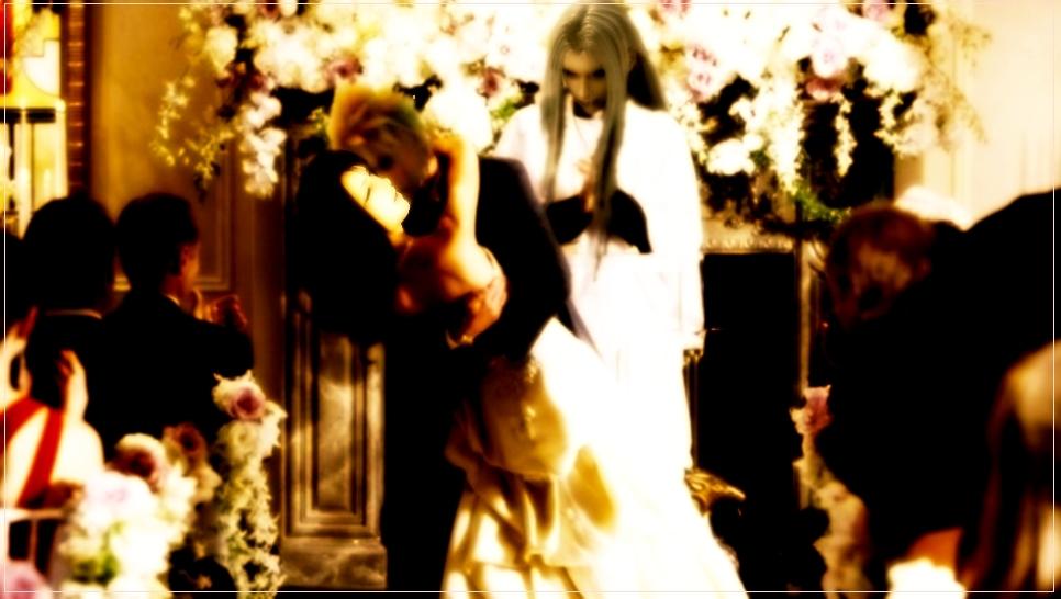 Cloud and tifa wedding