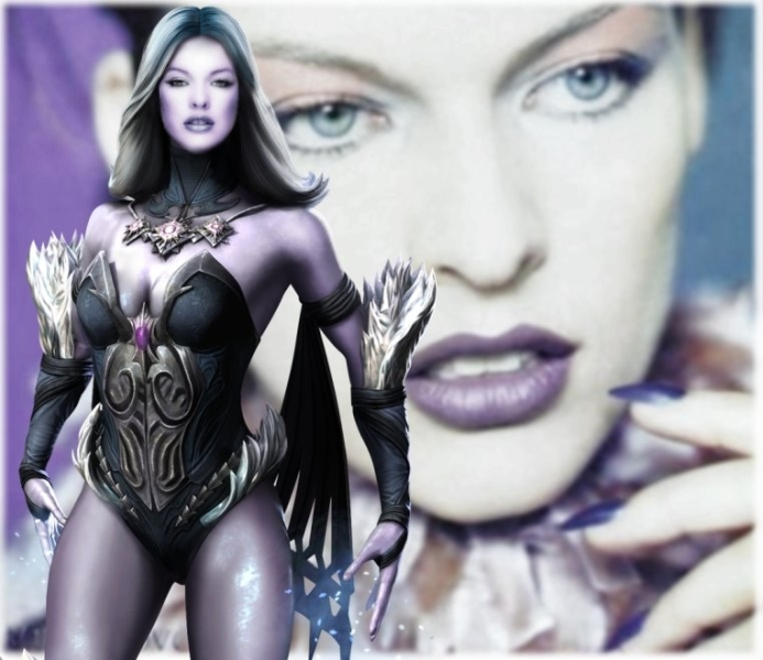 Milla Jovovich as Killer Frost by EvilMaybe