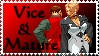 KoF Vice and Mature stamp by EvilMaybe