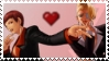 Vice and Mature from KoF stamp by EvilMaybe