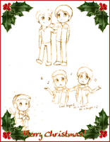 Supernatural Christmas 09 by xPrincessSakurax