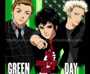 Green Day by xPrincessSakurax
