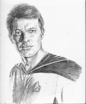 Riker from Star Trek TNG