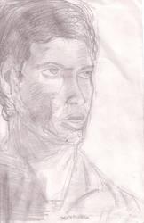 Tony Almeida Head by KAlmeida