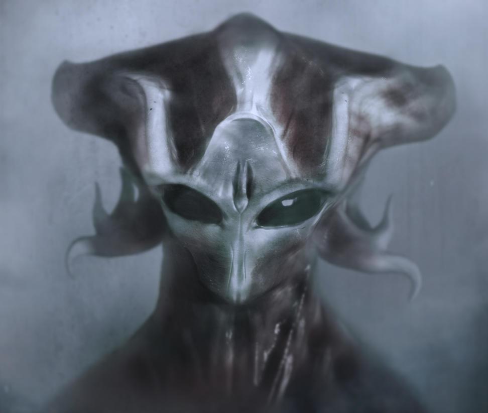 Alien by ChrisZuron