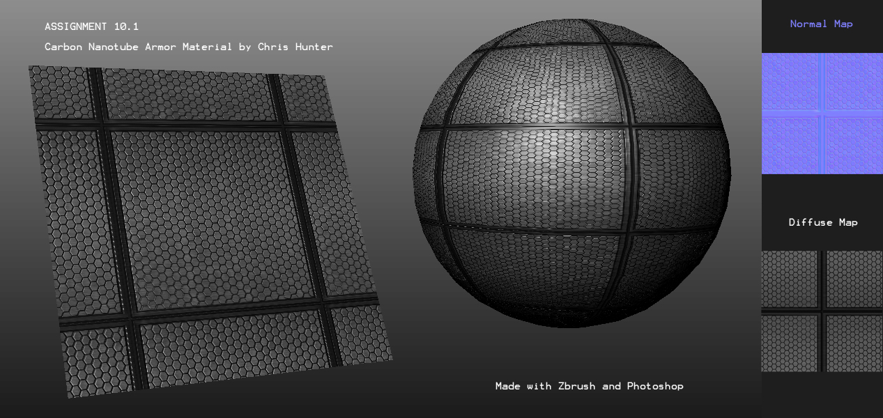 Carbon Nanotube Armor Material by ChrisZuron