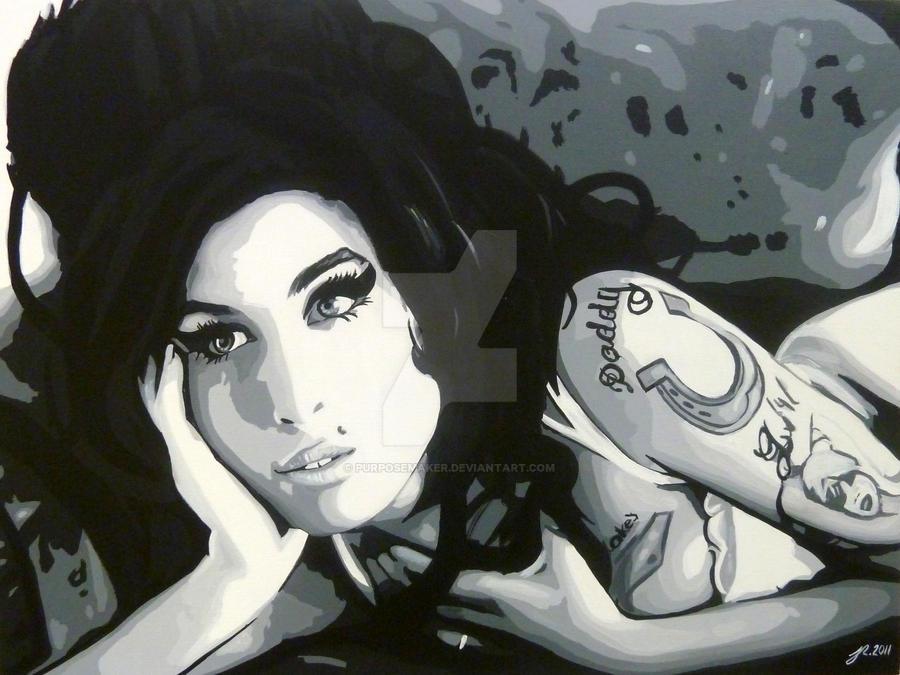 Amy Winehouse by purposemaker