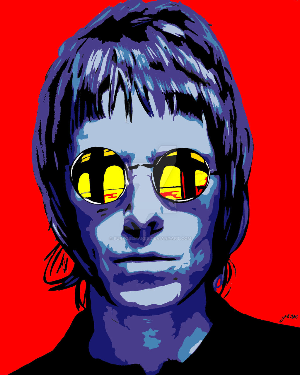 Liam Gallagher By Purposemaker On Deviantart