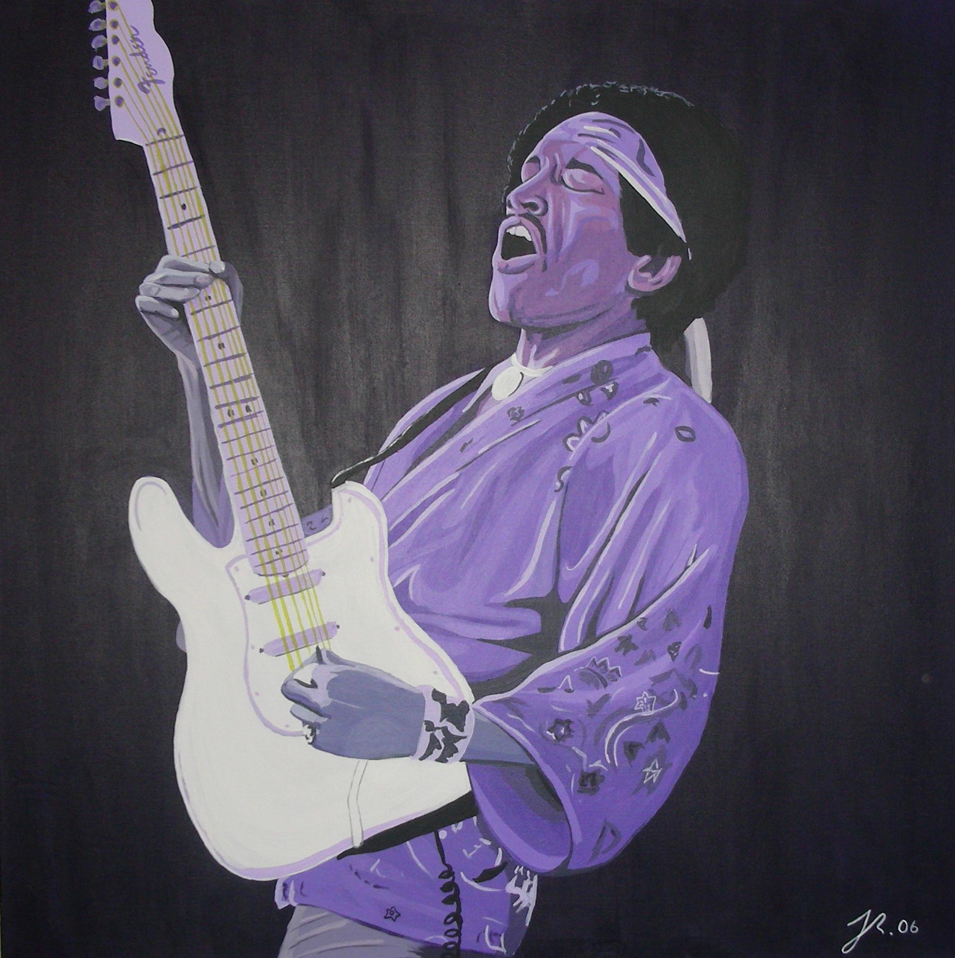Jimi Hendrix purple haze by purposemaker on DeviantArt