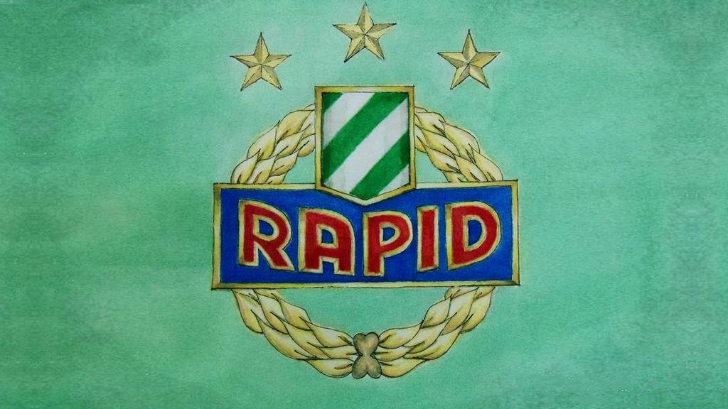 Sk Rapid Wien Footballclub Wallpaper 1067x600px By Supergeri70 On Deviantart
