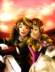 Twilight Princess Fanart- Old by Zeruda