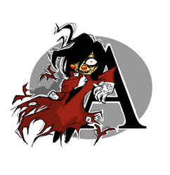 A is for Alucard by ms-cold