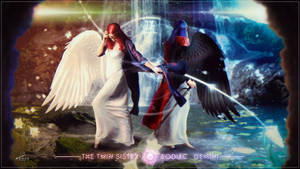 The Twin Sister - Zodiac : Gemini by Andromatonrecursion