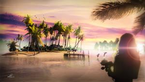 Summer Vibez by Andromatonrecursion