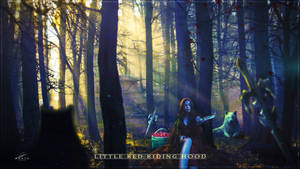 Little (Dark) Red Riding Hood by Andromatonrecursion