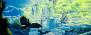 Cloud Castle by Andromatonrecursion
