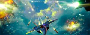 Dogfight - Evading Horizon by Andromatonrecursion