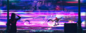 My Other Car is a Time Machine II by Andromatonrecursion