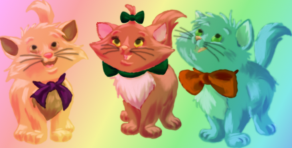Coloring Book Recolored: The Aristocats by HSGisME123