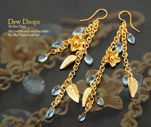 Dew Drops by Klyph
