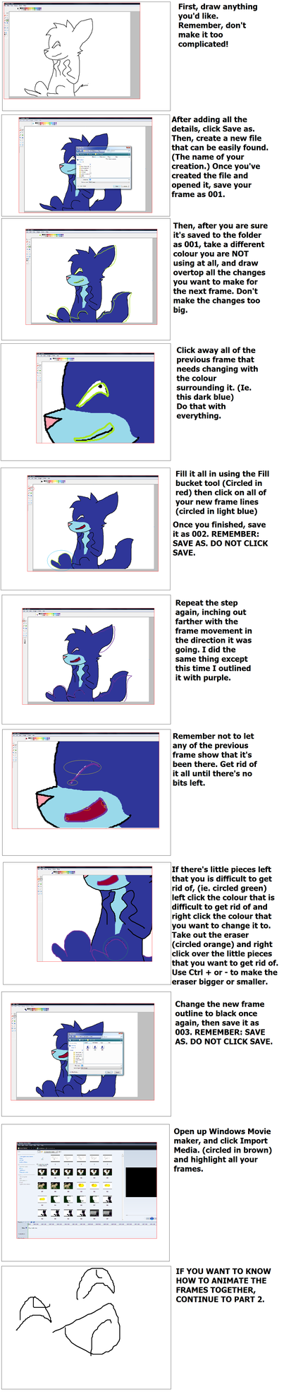 How I Animate With Ms Paint Part 1 By Deejaypony How I Animate With Ms Paint