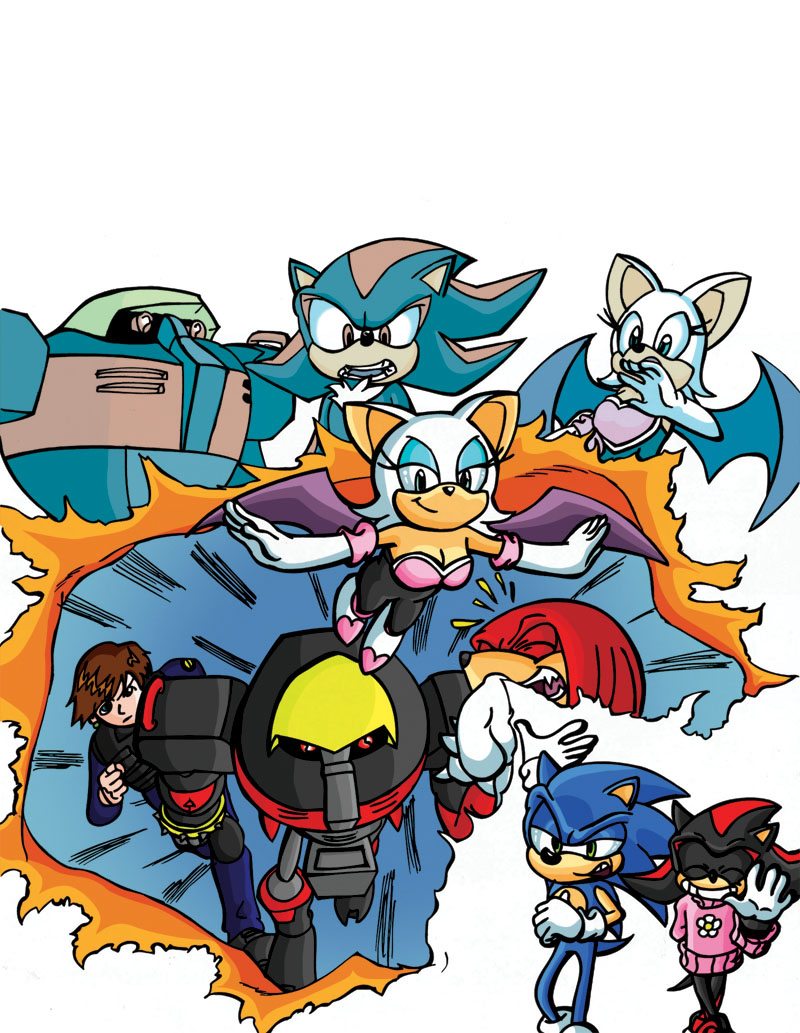 Sonic Eggs 3 Cover Coloured by Big-Al-Son86