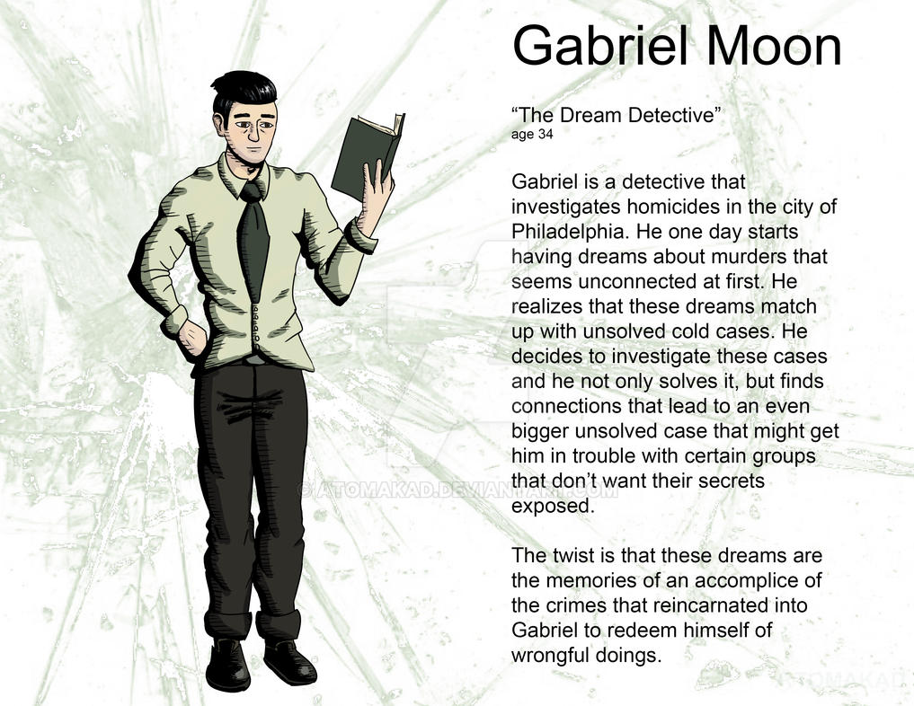 Gabriel Moon Glass character contest by Atomakad on DeviantArt