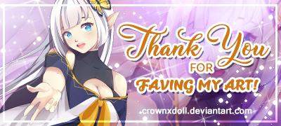 Thank You Fav Sig By Crownxdoll Ddofyc9 By Crownxd