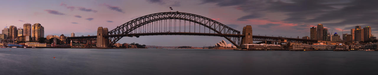Sydney Harbour Panoramic by Bobby01