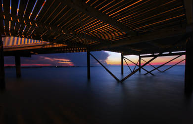 Nightcliff Jetty Sunset 4 by Bobby01