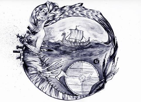 The Mermaid Who Crossed the Viking Ship