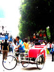 the trishaw.