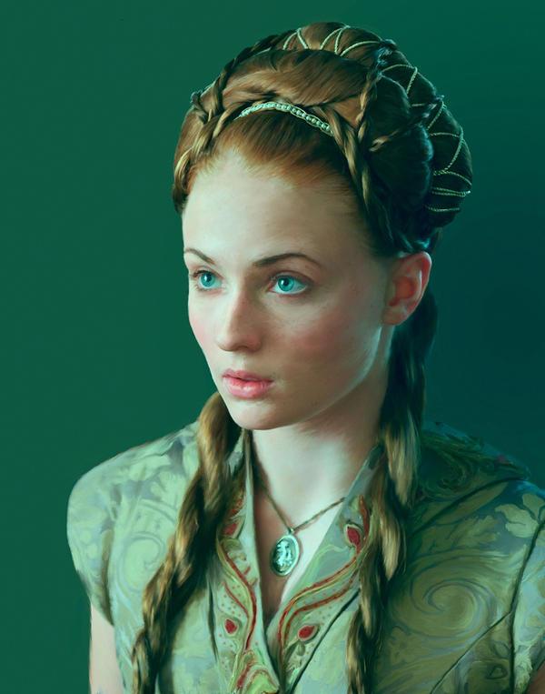Sansa by AlphBertillon