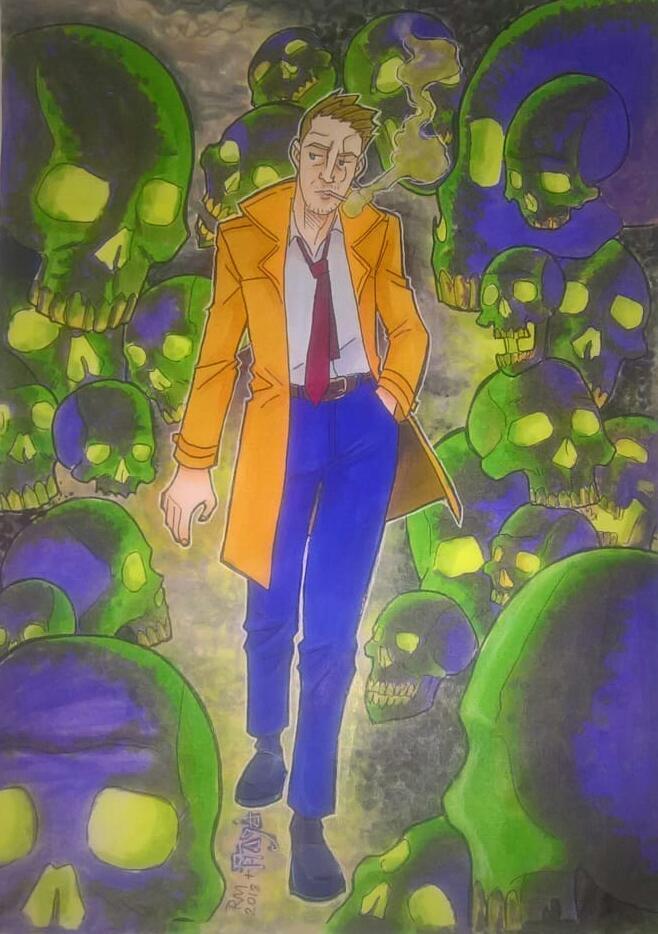 John Constatine by bob-santiago