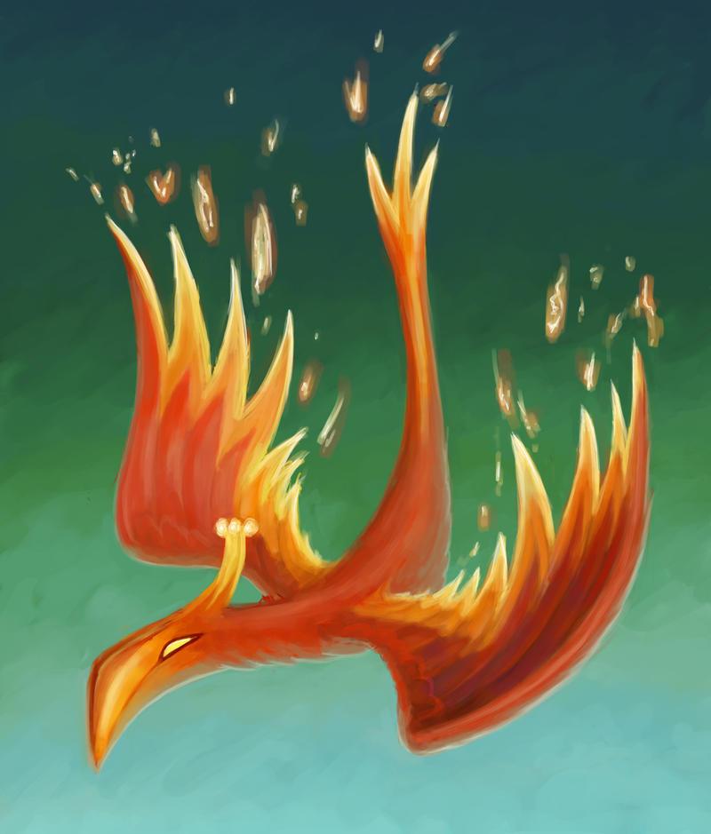 L'Oiseau de Feu by Dahtamnay