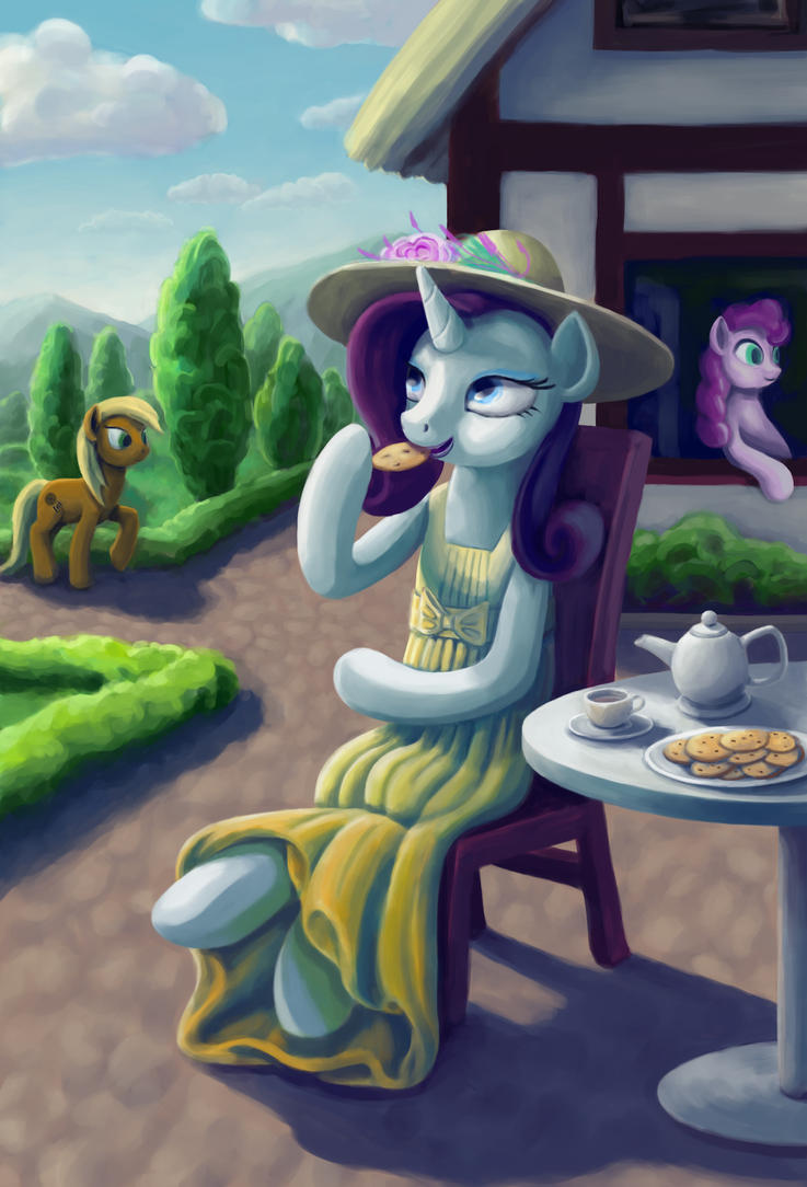 Tea Time by Dahtamnay