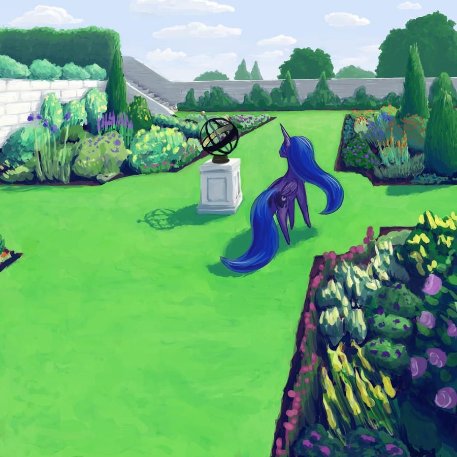 Canterlot Gardens 10 by Dahtamnay