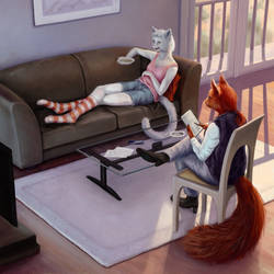 Whatcha Reading? by Dahtamnay