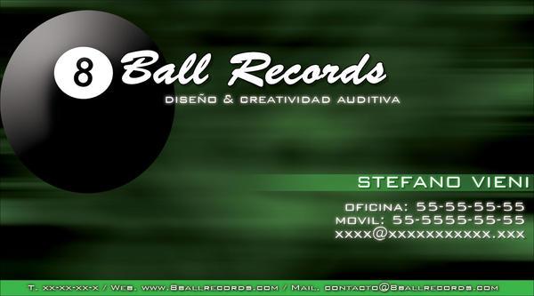 8BR Business Card by jflc9