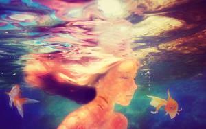 Goldfish Girl by Snap-Mc-Shotty
