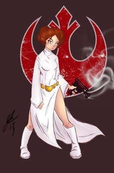 Princess Leia Rebel Rebel