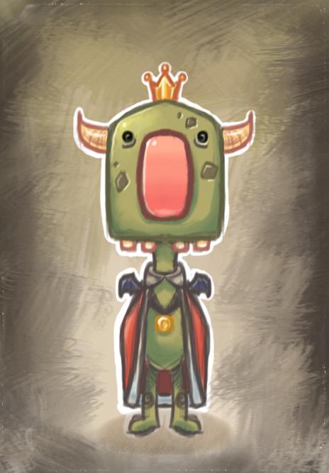 Monster King by NerdyGeekyDweeb