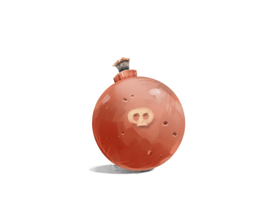 Bomb by NerdyGeekyDweeb