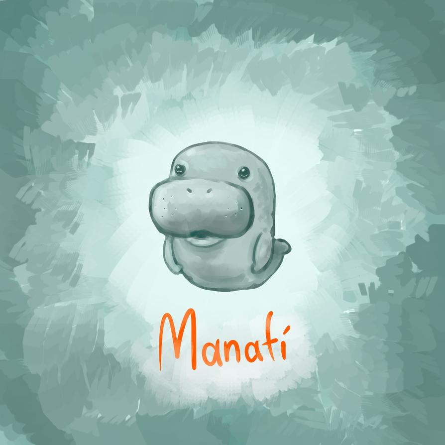 Manatee by NerdyGeekyDweeb